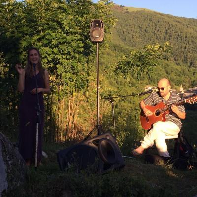 Antacanto en concert de plein air