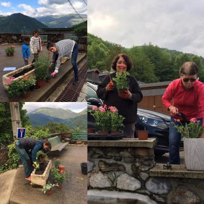 Fleurissement du village 2020